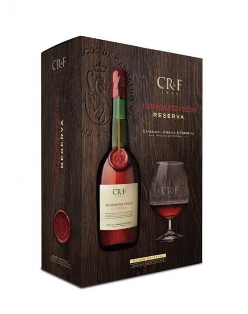 Garcias - Vinhos e Bebidas Espirituosas - AGUARDENTE C.R.& F. RESERVA C/ BALÃO 1