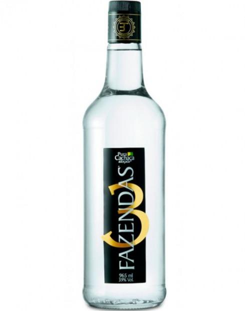 Garcias - Vinhos e Bebidas Espirituosas - CACHAÇA 3 FAZENDAS  1