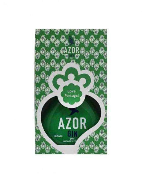 Garcias - Vinhos e Bebidas Espirituosas - GIN AZOR DRY LOVE PORTUGAL C/CX 1