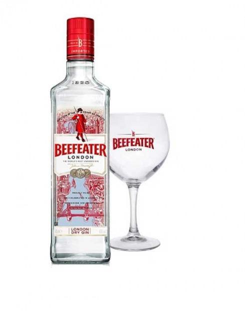 Garcias - Vinhos e Bebidas Espirituosas - GIN BEEFEATER C/ COPO 1