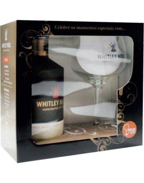 Garcias - Vinhos e Bebidas Espirituosas - GIN WHITLEY NEILL C/COPO  1