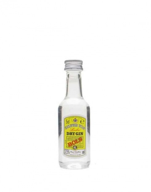 Garcias - Vinhos e Bebidas Espirituosas - GIN BOL'S SILVERTOP MINIATURA 1