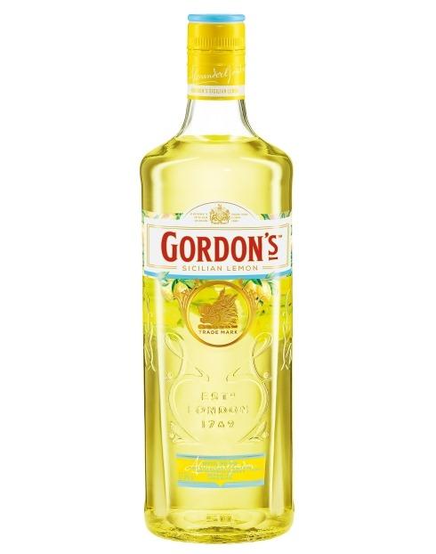 Garcias - Vinhos e Bebidas Espirituosas - GIN GORDON'S SICILIAN LEMON 1