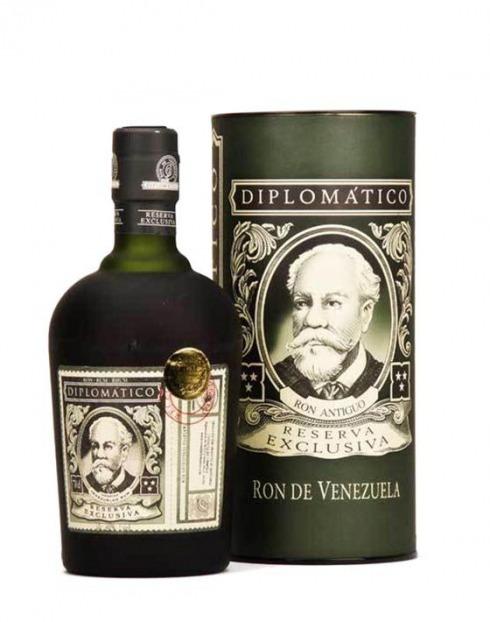 Garcias - Vinhos e Bebidas Espirituosas - RUM DIPLOMÁTICO RESERVA EXCLUSIVA 1