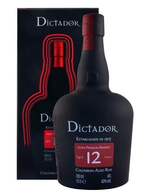 Garcias - Vinhos e Bebidas Espirituosas - RUM DICTADOR 12 ANOS 1