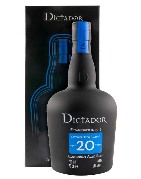 Garcias - Vinhos e Bebidas Espirituosas - RUM DICTADOR 20 ANOS 1