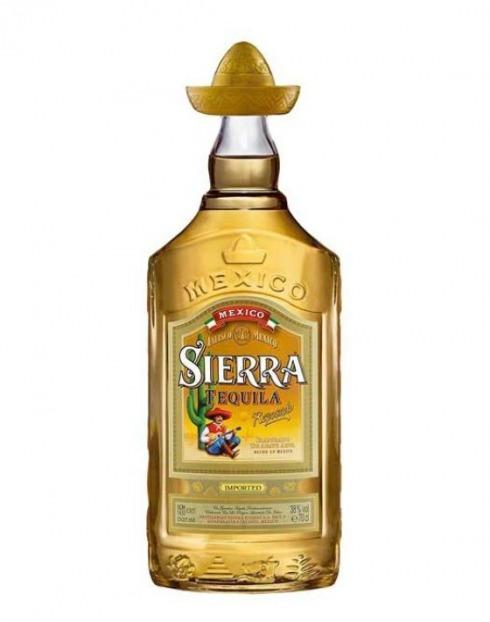 Garcias - Vinhos e Bebidas Espirituosas - TEQUILA SIERRA GOLD 1