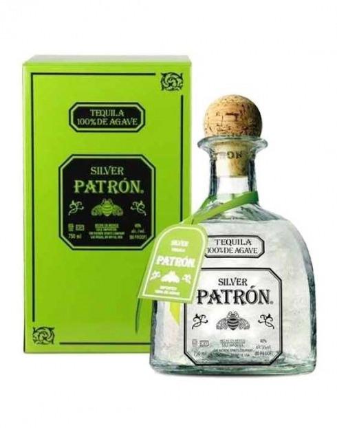 Garcias - Vinhos e Bebidas Espirituosas - TEQUILA PATRON SILVER C/ CAIXA 1