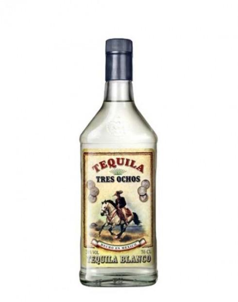 Garcias - Vinhos e Bebidas Espirituosas - TEQUILA 3 OCHOS BLANCA 1