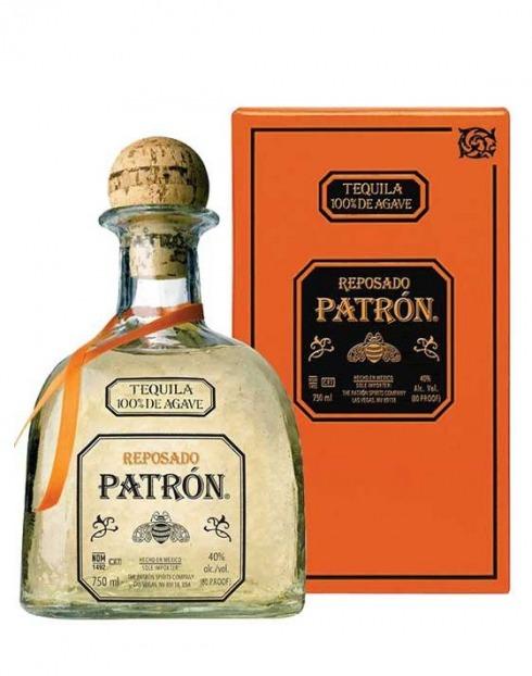 Garcias - Vinhos e Bebidas Espirituosas - TEQUILA PATRON REPOSADO C/ CX 1