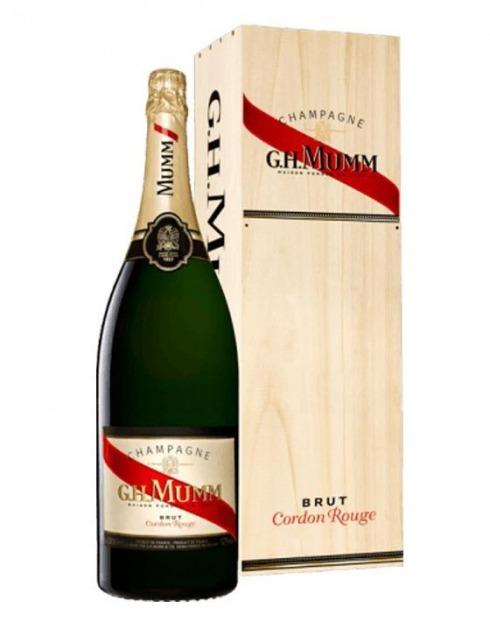 Garcias - Vinhos e Bebidas Espirituosas - CHAMPANHE MUMM CORDON ROUGE BRUT MAGNUM 1