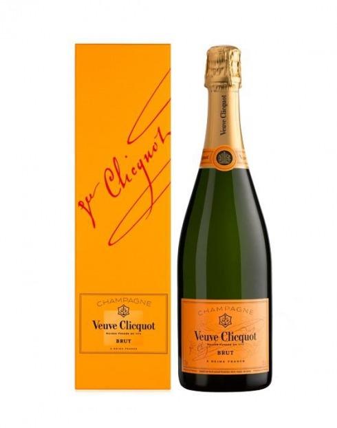 Garcias - Vinhos e Bebidas Espirituosas - CHAMPAGNE VEUVE CLICQUOT C/ CAIXA 1