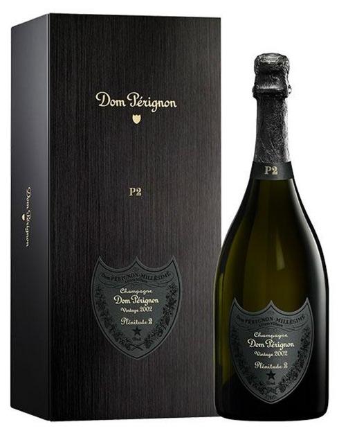 Garcias - Vinhos e Bebidas Espirituosas - CHAMPAGNE DOM PERIGNON VINTAGE 2002 C/ CAIXA 1