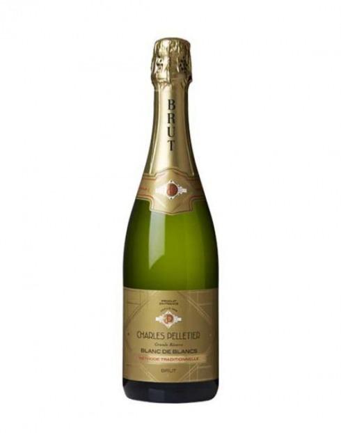 Garcias - Vinhos e Bebidas Espirituosas - VINHO ESPUMANTE CHARLES PELLETIER BLANC BRUT  1