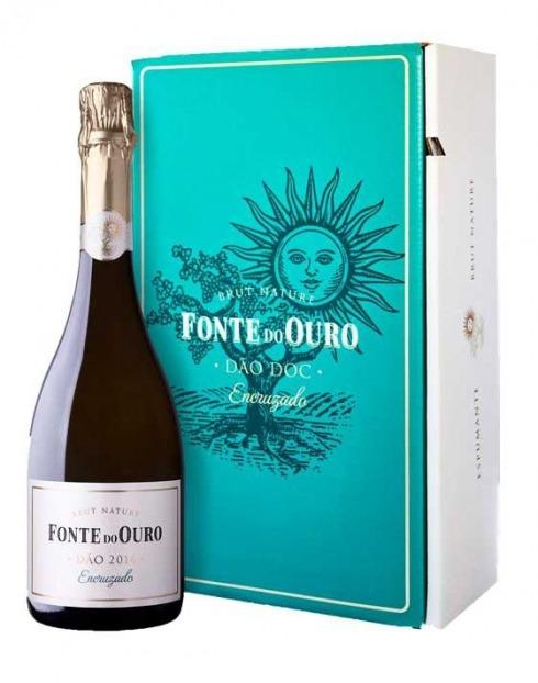 Garcias - Vinhos e Bebidas Espirituosas - CONJUNTO 2 GRFS VINHO ESPUMANTE FONTE DO OURO ENCRUZADO 1