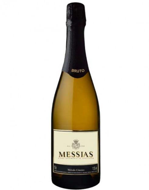 Garcias - Vinhos e Bebidas Espirituosas - VINHO ESPUMANTE MESSIAS BRUTO 0.75 1