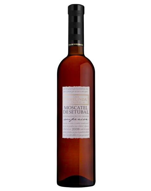 Garcias - Vinhos e Bebidas Espirituosas - VINHO MOSCATEL SETÚBAL CASA ERMELINDA FREITAS SUPERIOR 1
