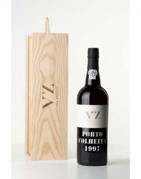 Garcias - Vinhos e Bebidas Espirituosas - VINHO PORTO VAN ZELLERS COLHEITA 1997  CX.MAD  1