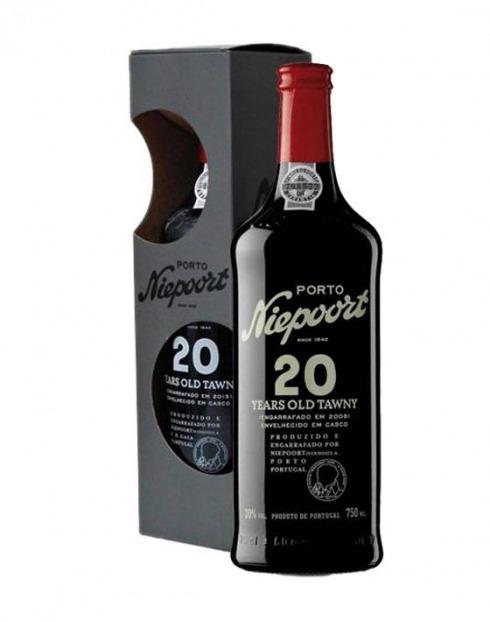 Garcias - Vinhos e Bebidas Espirituosas - VINHO PORTO NIEPOORT TAWNY 20A C/ CAIXA 1