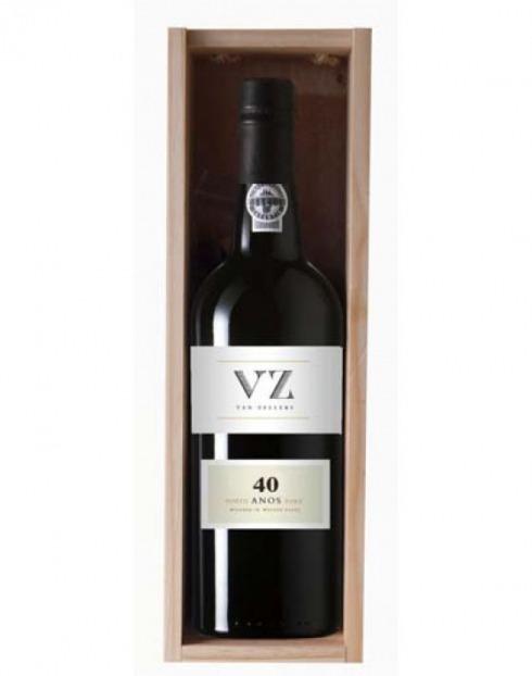 Garcias - Vinhos e Bebidas Espirituosas - VINHO PORTO VAN ZELLERS TAWNY 40 A CX.MAD  1