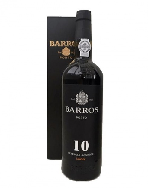 Garcias - Vinhos e Bebidas Espirituosas - VINHO PORTO BARROS 10 ANOS C/ ESTOJO 1