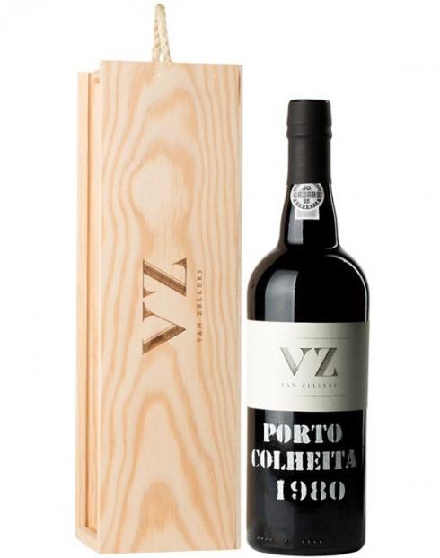 Garcias - Vinhos e Bebidas Espirituosas - VINHO PORTO VAN ZELLERS COLHEITA 1980  CX.MAD  1
