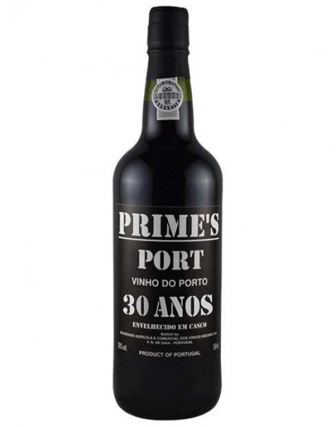Garcias - Vinhos e Bebidas Espirituosas - VINHO PORTO PRIMES 30 ANOS CX.MAD 1