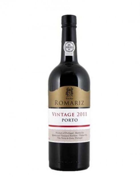 Garcias - Vinhos e Bebidas Espirituosas - VINHO PORTO ROMARIZ VINTAGE 11 CX MAD IND  1