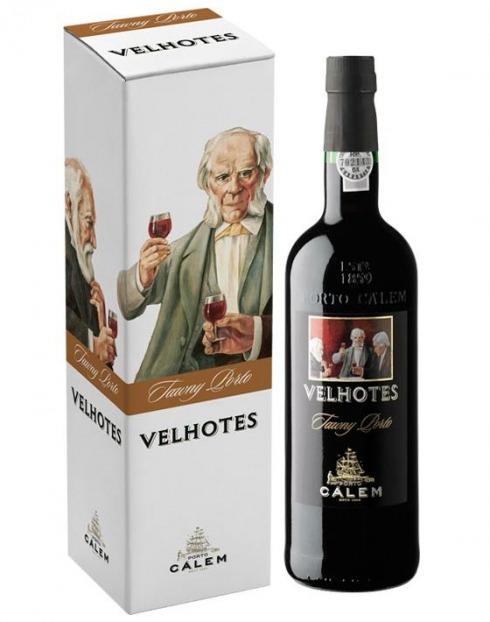 Garcias - Vinhos e Bebidas Espirituosas - VINHO PORTO VELHOTES TAWNY C/ CAIXA 1