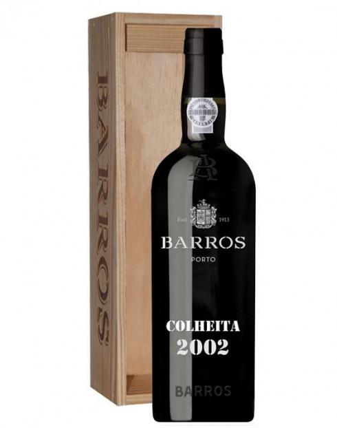 Garcias - Vinhos e Bebidas Espirituosas - VINHO PORTO BARROS COLHEITA 2002 C/ ESTOJO 1