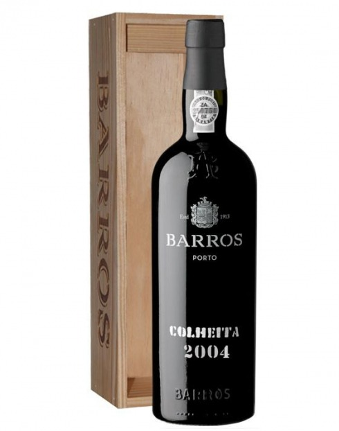 Garcias - Vinhos e Bebidas Espirituosas - VINHO PORTO BARROS COLHEITA 2004 C/ ESTOJO 1
