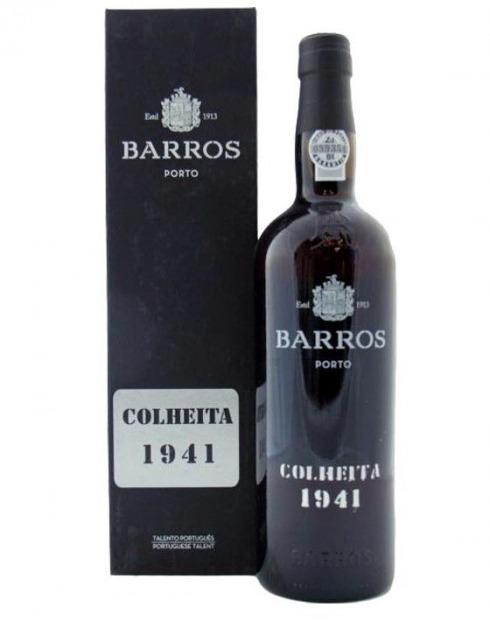 Garcias - Vinhos e Bebidas Espirituosas - VINHO PORTO BARROS COLHEITA 1941 C/ ESTOJO 1