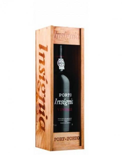 Garcias - Vinhos e Bebidas Espirituosas - VINHO PORTO INSIGNIA VINT.99 CX.MAD  1