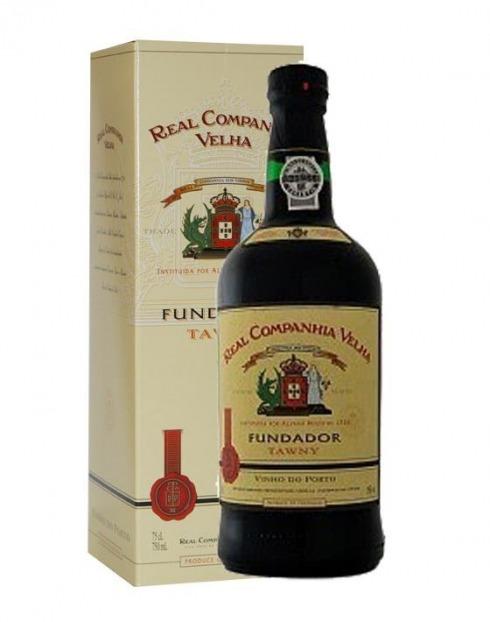 Garcias - Vinhos e Bebidas Espirituosas - VINHO PORTO FUNDADOR R.C VELHA TINTO C/ CAIXA 1