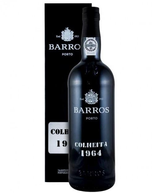 Garcias - Vinhos e Bebidas Espirituosas - VINHO PORTO BARROS COLHEITA 1964 C/ ESTOJO 1