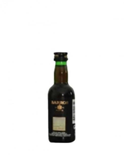 Garcias - Vinhos e Bebidas Espirituosas - VINHO PORTO BARROS WHITE MINIATURA 1