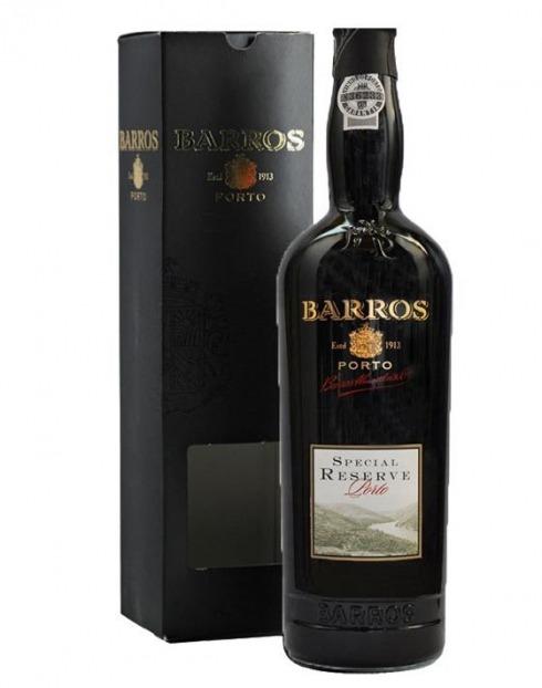 Garcias - Vinhos e Bebidas Espirituosas - VINHO PORTO BARROS SPECIAL RESERVE C/ CAIXA 1