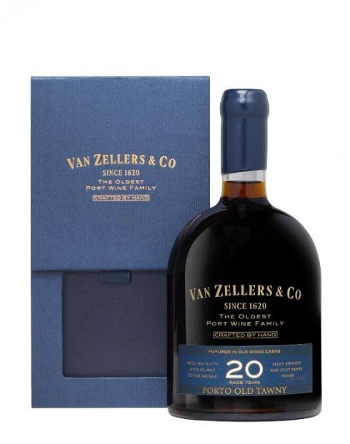 Garcias - Vinhos e Bebidas Espirituosas - VINHO PORTO VAN ZELLERS&CO 20A 1