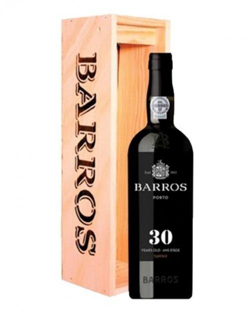 Garcias - Vinhos e Bebidas Espirituosas - VINHO PORTO BARROS 30 ANOS C/ CX MADEIRA 1