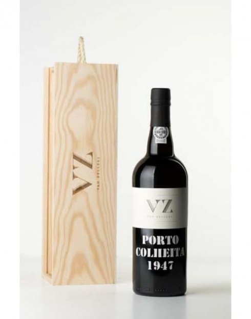 Garcias - Vinhos e Bebidas Espirituosas - VINHO PORTO VAN ZELLERS COLHEITA 1947  CX.MAD  1