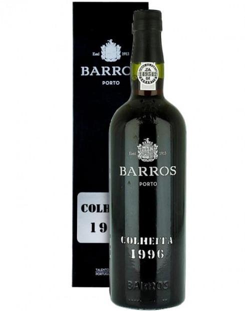 Garcias - Vinhos e Bebidas Espirituosas - VINHO PORTO BARROS COLHEITA 1996 C/ ESTOJO 1