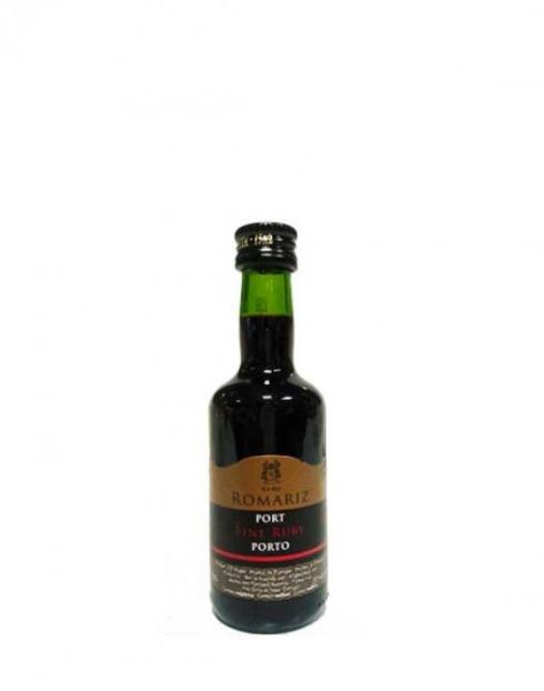 Garcias - Vinhos e Bebidas Espirituosas - VINHO PORTO ROMARIZ RUBY MINIATURA 1