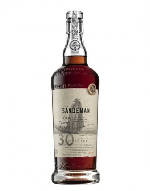 Garcias - Vinhos e Bebidas Espirituosas - VINHO PORTO SANDEMAN TAWNY 30A CX. MAD 1