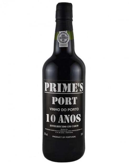Garcias - Vinhos e Bebidas Espirituosas - VINHO PORTO PRIMES 10 ANOS CX.MAD 1