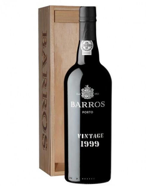 Garcias - Vinhos e Bebidas Espirituosas - VINHO PORTO BARROS VINTAGE 1999 C/ CAIXA 1