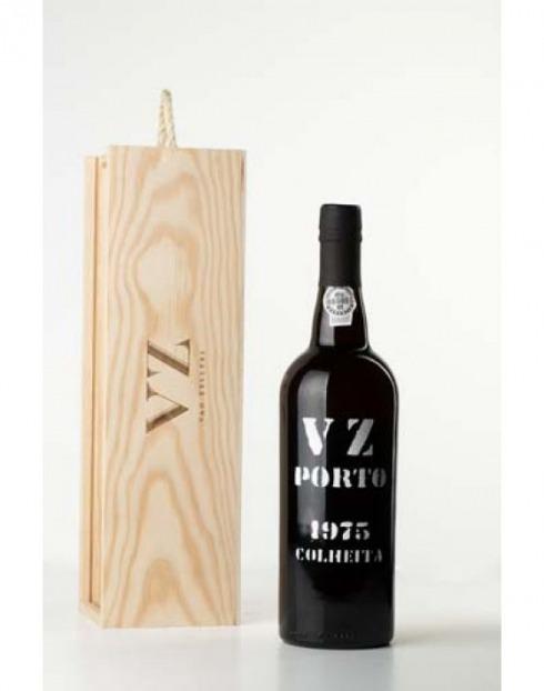Garcias - Vinhos e Bebidas Espirituosas - VINHO PORTO VAN ZELLERS COLHEITA 1975  CX.MAD  1
