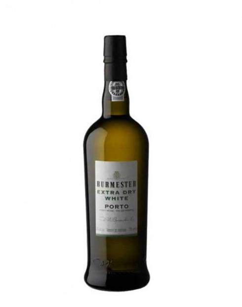 Garcias - Vinhos e Bebidas Espirituosas - VINHO PORTO BURMESTER EXTRA DRY WHITE CX. MADEIRA 1