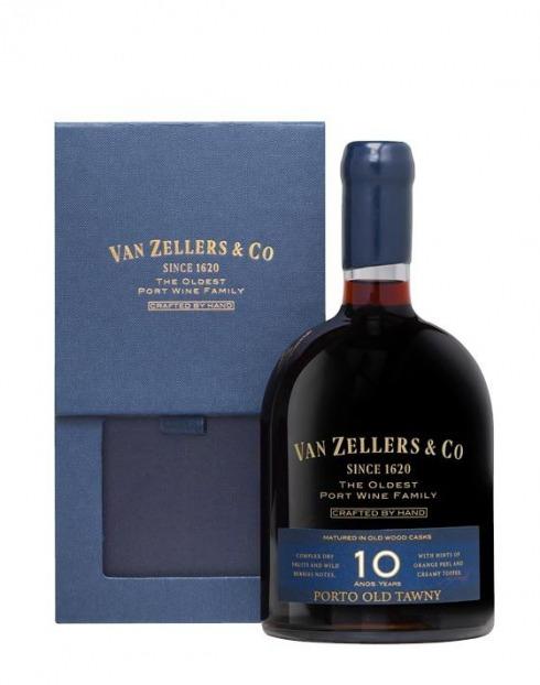 Garcias - Vinhos e Bebidas Espirituosas - VINHO PORTO VAN ZELLERS&CO 10A 1