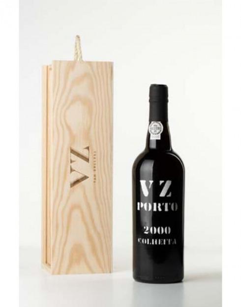 Garcias - Vinhos e Bebidas Espirituosas - VINHO PORTO VAN ZELLERS COLHEITA 2000  CX.MAD  1