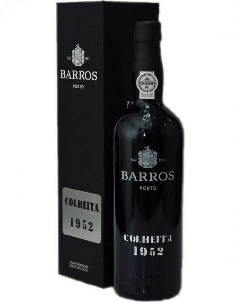 Garcias - Vinhos e Bebidas Espirituosas - VINHO PORTO BARROS COLHEITA 1952 C/ ESTOJO 1